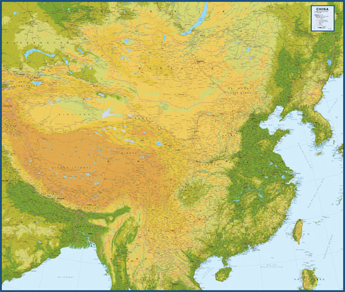 China Map with Provinces